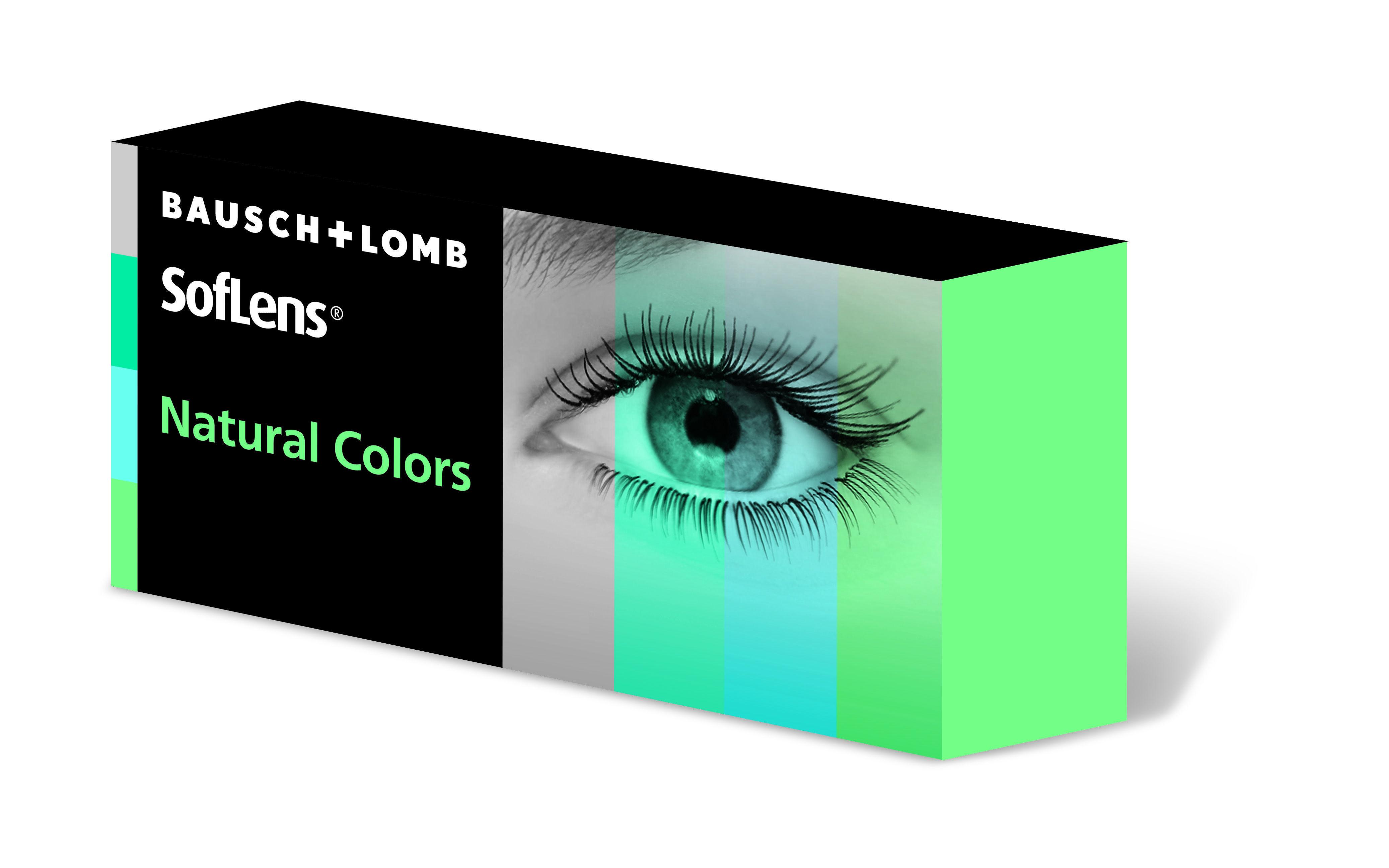 SofLens Natural Colors lenzen