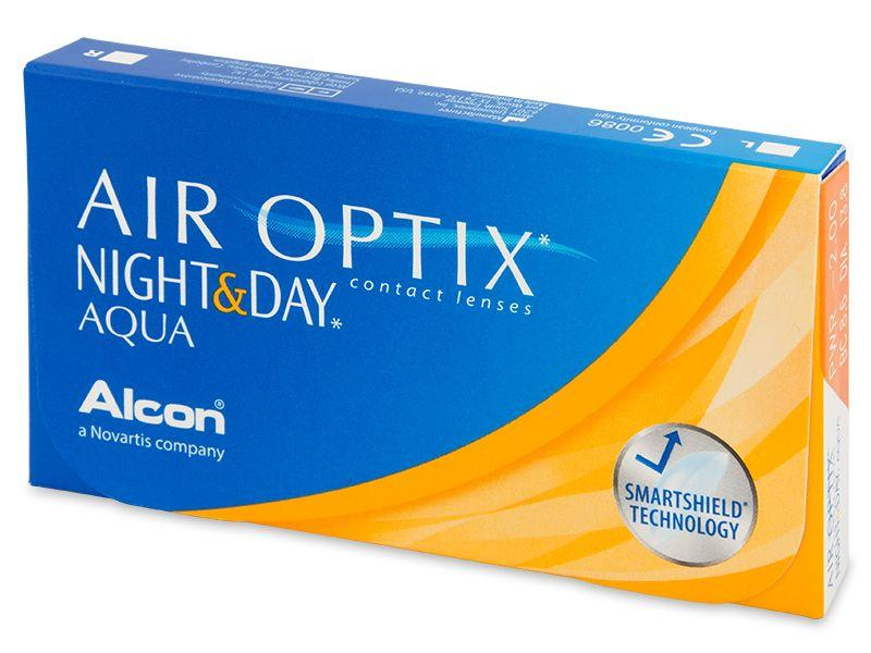 Air Optix Night & Day Aqua maandlenzen