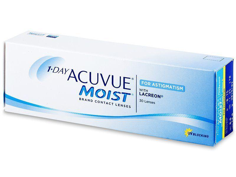 1-Day Acuvue Moist for Astigmatism daglenzen